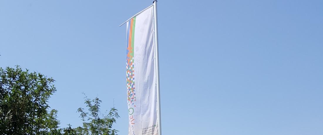 Die neue Fahne in Weinstadt, Heinkelstraße 39